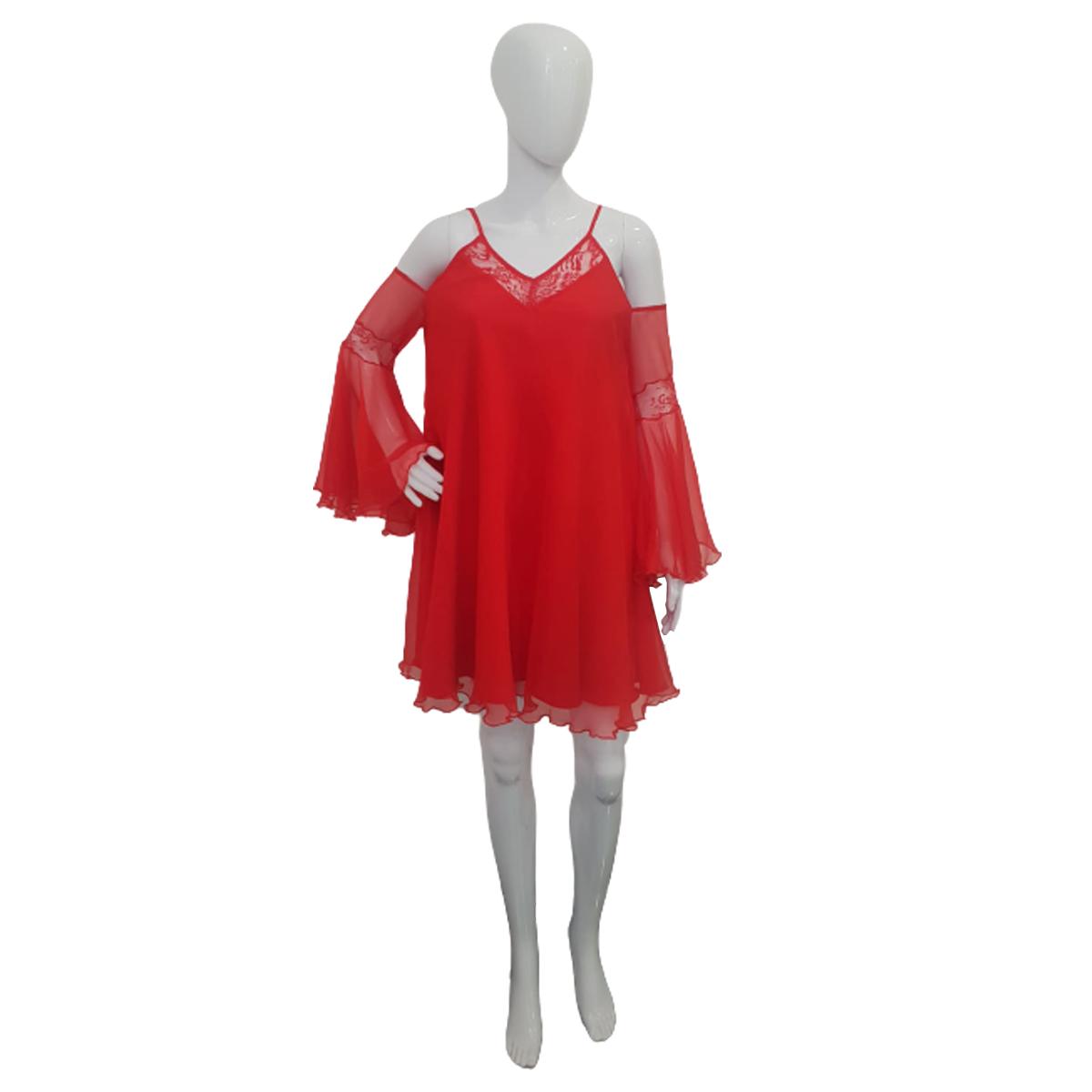 rochie-scurta-de-vara-rosie-2
