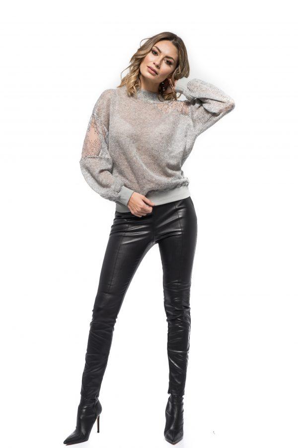 Pantaloni Piele Ecologica MABEL 1. Poza primara