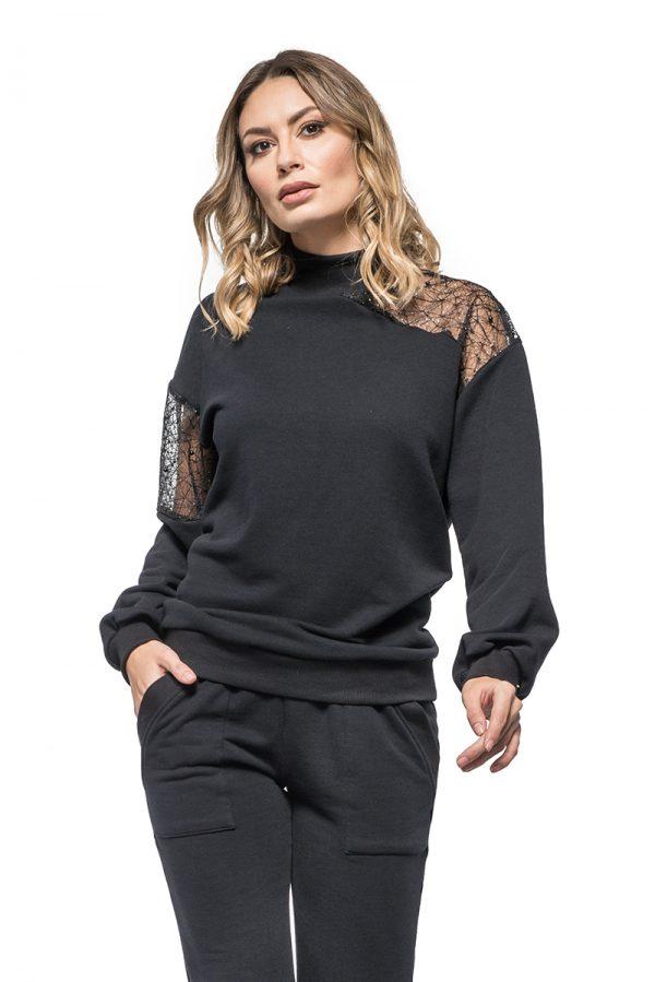Bluza TANIA BLACK 1. Poza primara