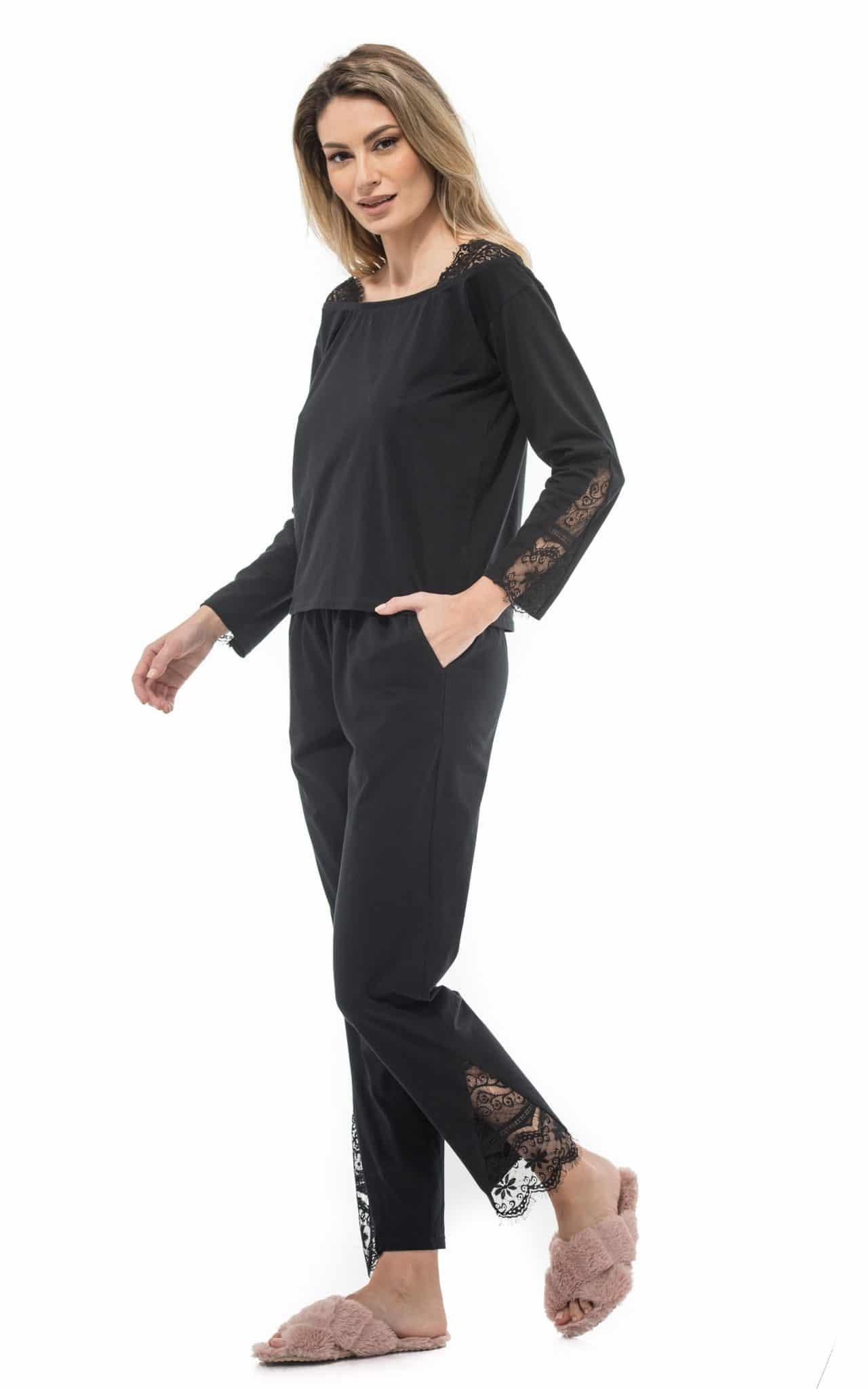 Pantalon Lung Pijama HAVENA (1) POZA PRIMARA