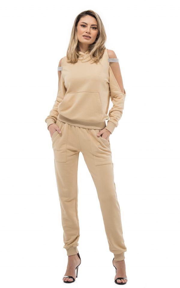 Pantalon MELBA BEIGE (1) POZA PRIMARA