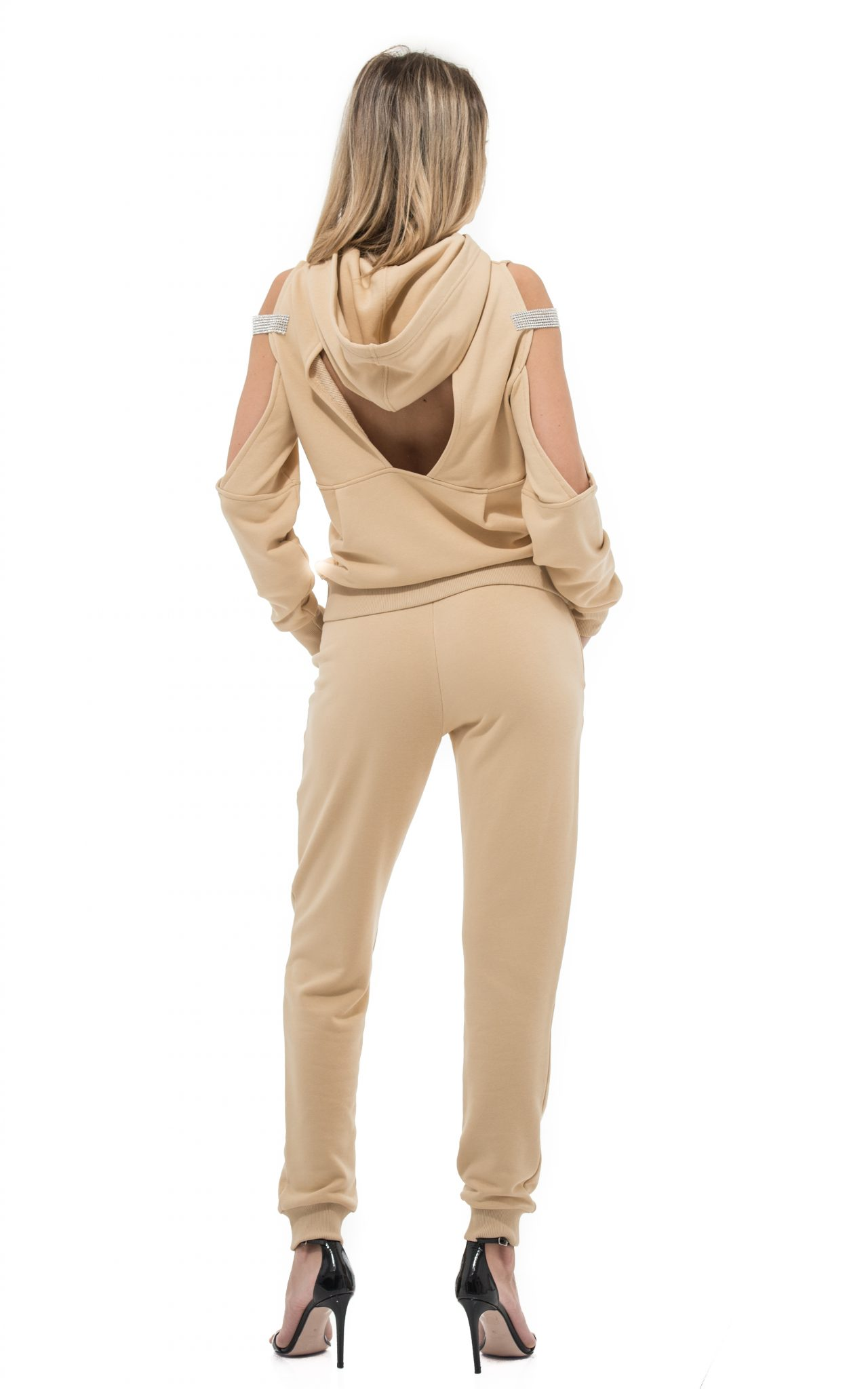 Pantalon MELBA BEIGE (2) POZA PRIMARA